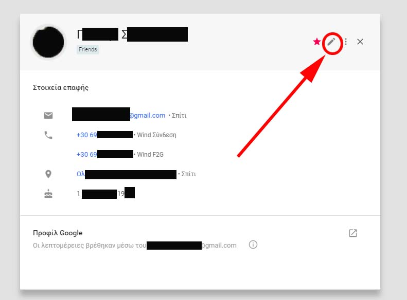 goggle contact details